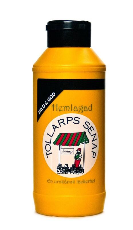 Tollarps senap - mild och god